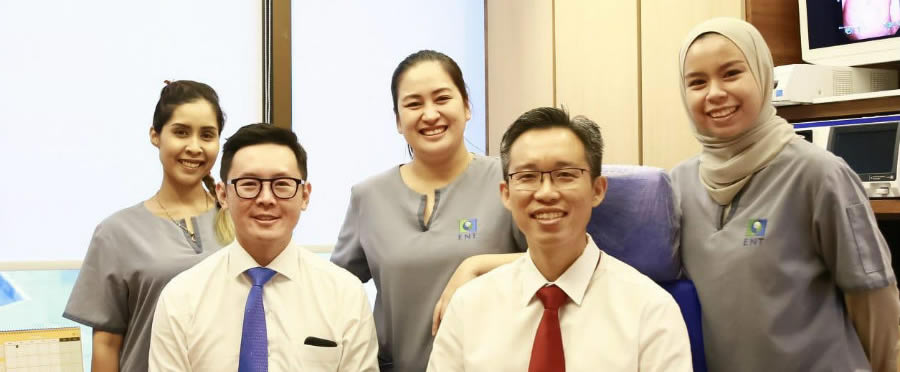 ENT Specialist Singapore Doctors & Staff of Ear Nose Throat Head & Neck Surgery ENT clinic